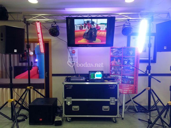 Discomóvil karaoke