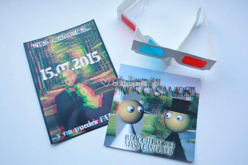 Nuevas invitaciones 3D