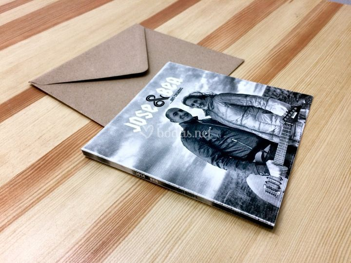 Invitaciones personalizadas CD