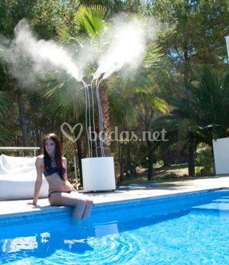 Climatización piscina