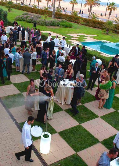 Climatización boda