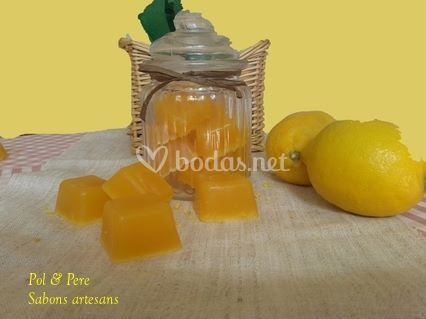 Jabones de limón