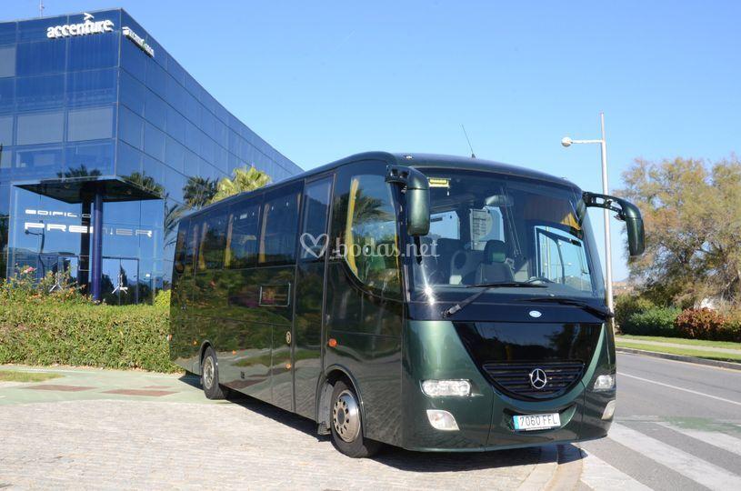 Microbuses hasta 35 pasajeros