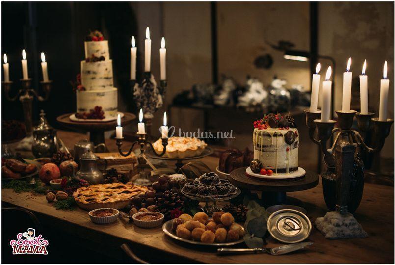 Mesa Dulce Navidad de Sweetmama