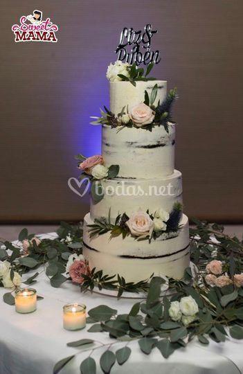 Naked Cake Wela