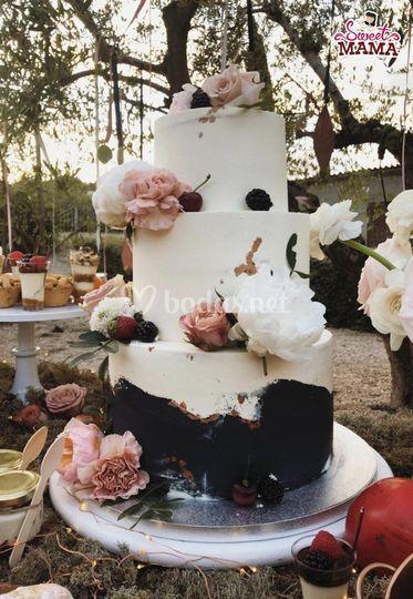 Tarta de boda Can Carol
