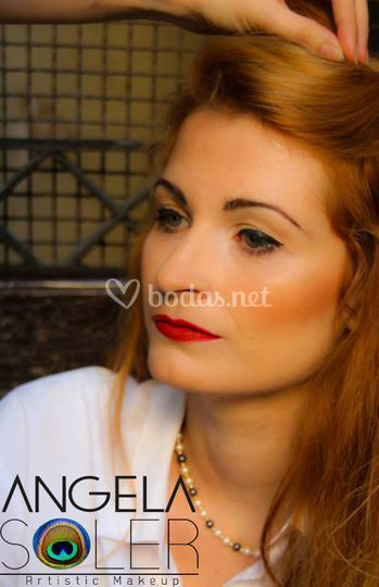 Maquillaje tipo pin up
