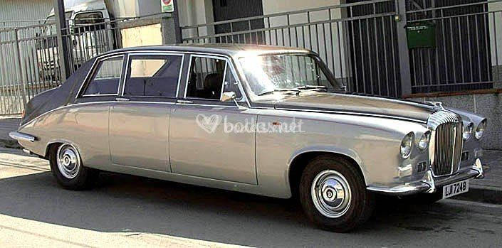 Daimler Ds420 Blanco Bicolor