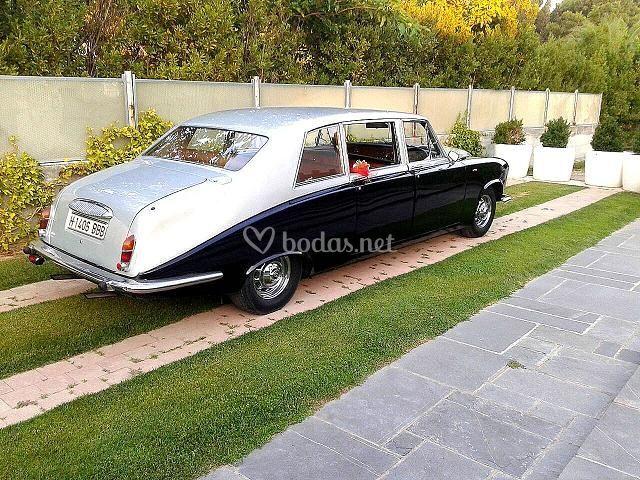 Daimler Bicolor Negro-Plata