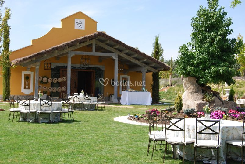 Casa del Lago de Finca El Albero