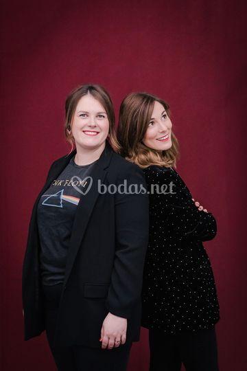 Sara y Zuriñe