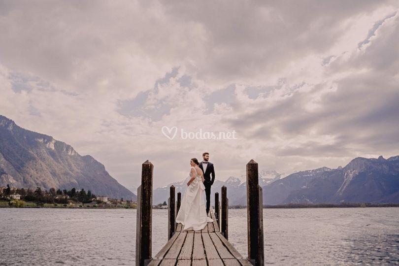 Lago de Suiza