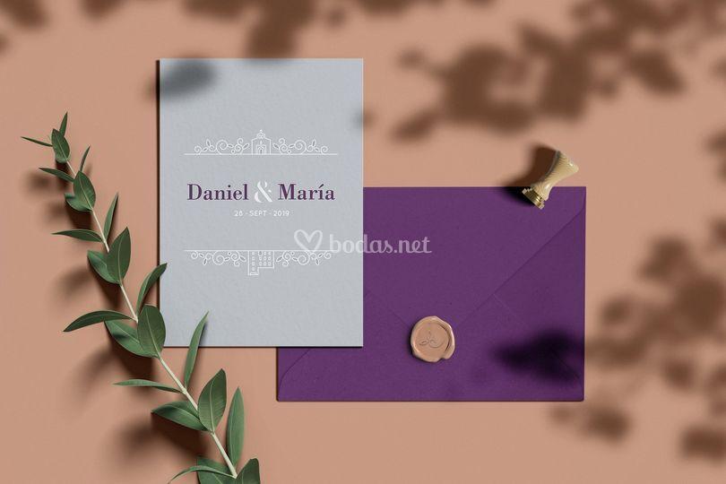 Invitación Daniel & María
