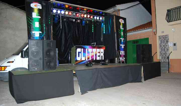 Disco Móvil Glitter