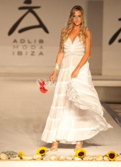 vestido de novia ibicenco de ibimoda | fotos