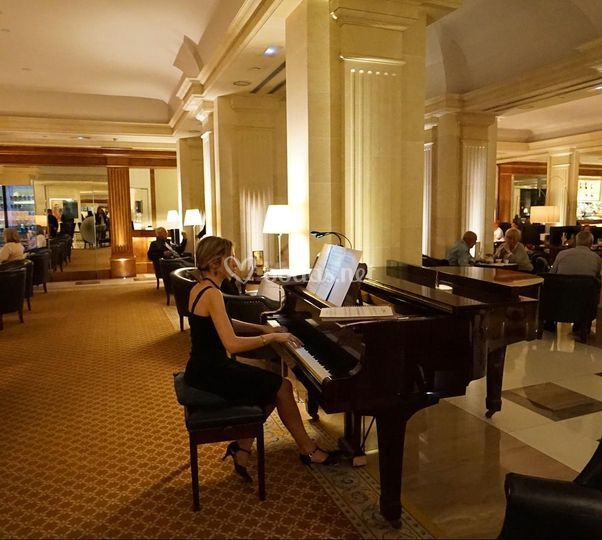 Pianista en hoteles