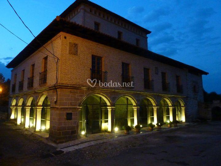 Iluminación de la fachada