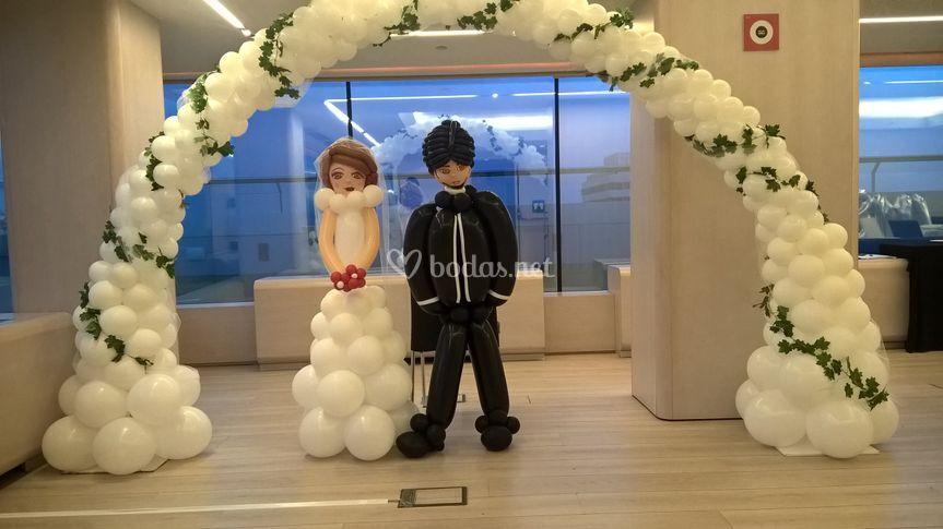 Arcos de globos bodas