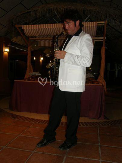 Juan José en una boda