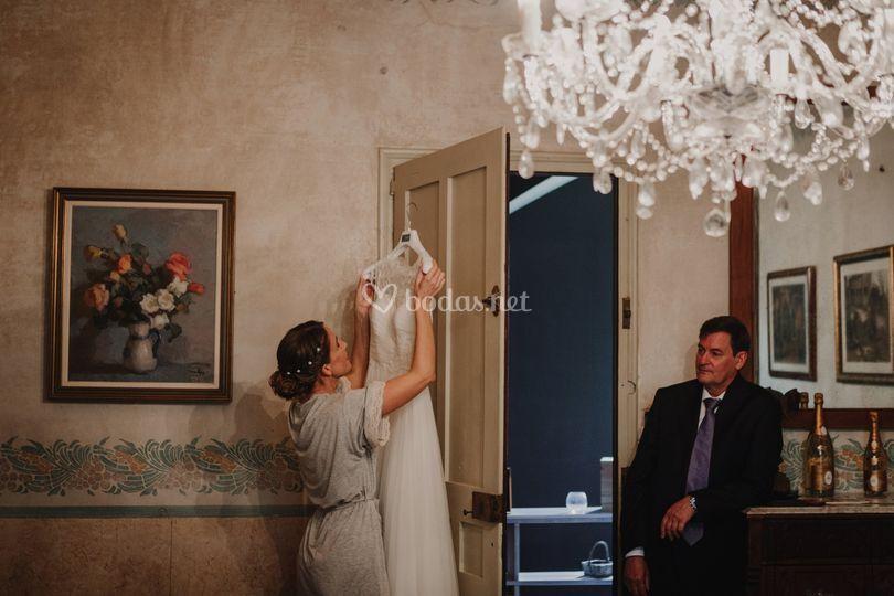 Anna & Carlos boda a mas Folch