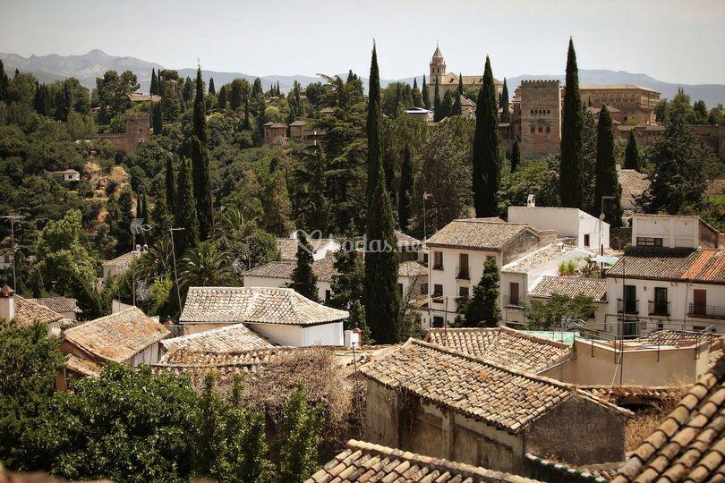 Vistas en Granada