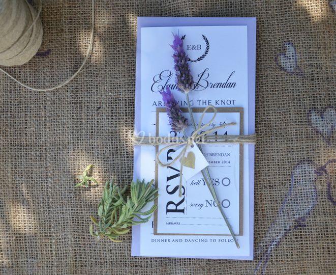 Vintage/rustic lilac suite