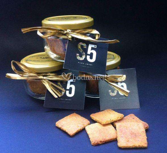 Tarros de regalo sablés salazones