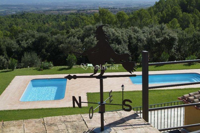 2 piscinas para nuestros invitados