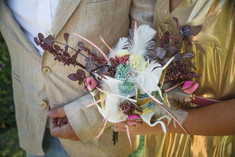 Ramo de novia Flores del Desie