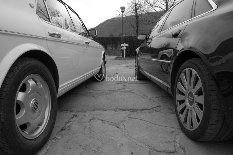 Detalle de los coches