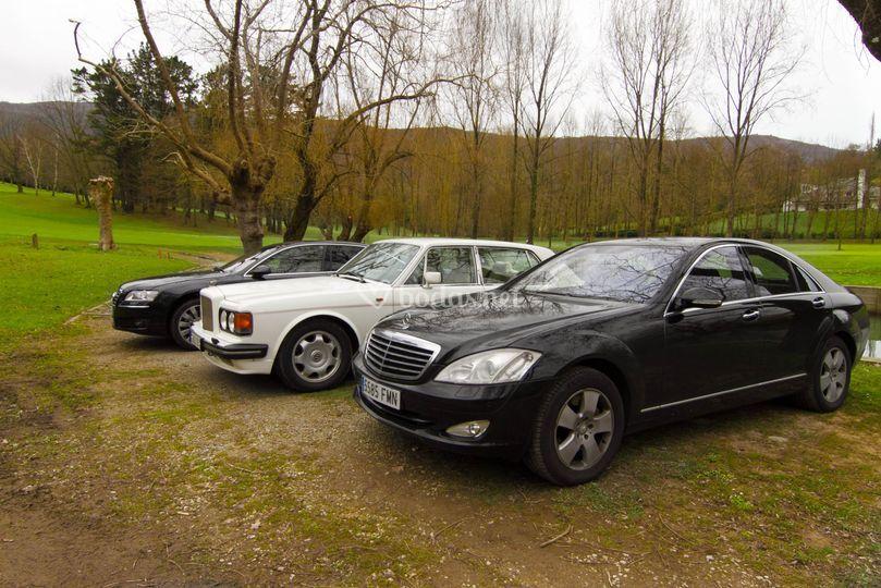 Diferentes coches