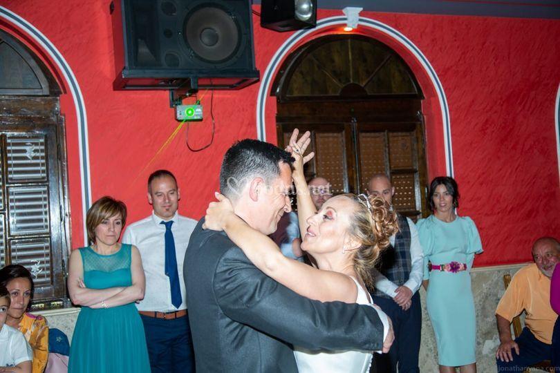 Baile de recién casados