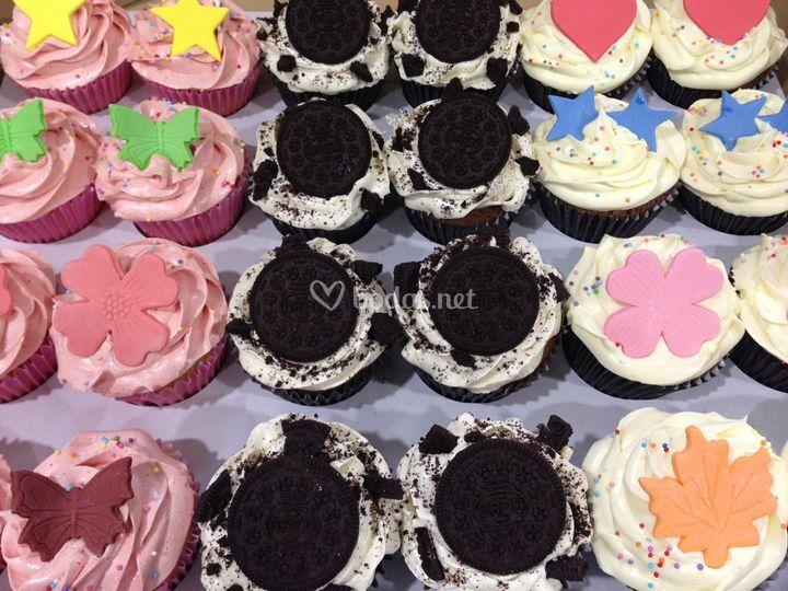 Cupcakes varias boda