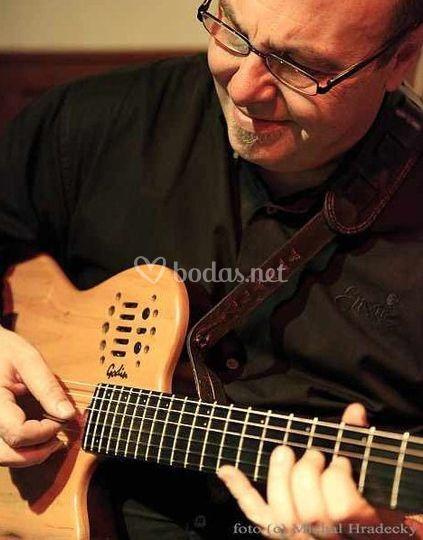 Guitarra clásica y jazz