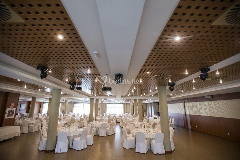 Zona de baile del salón