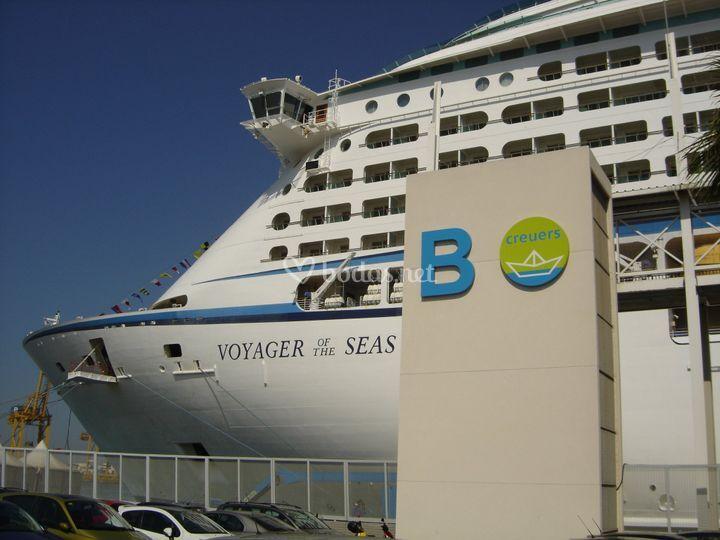 Adventure of the sea en puerto