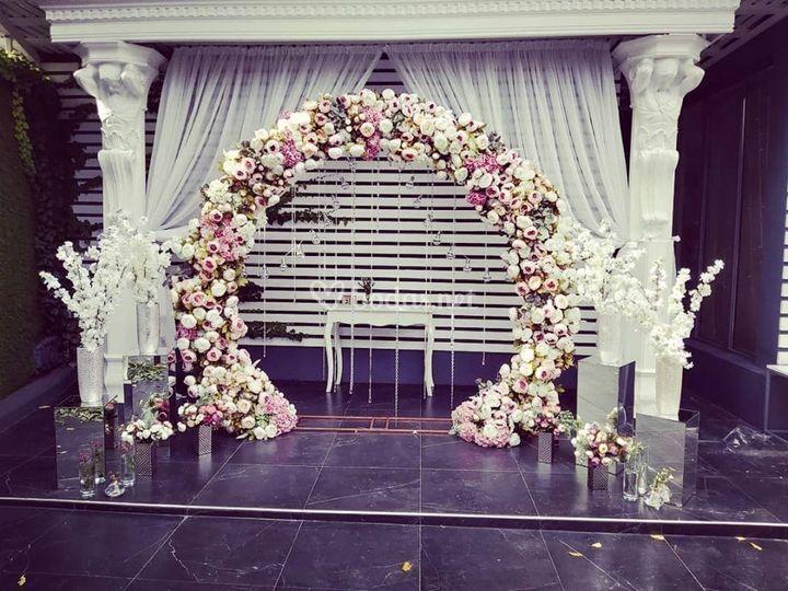 Arco para la ceremonia