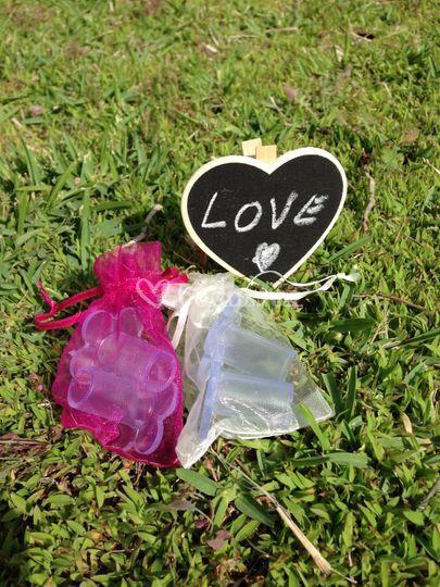Love Daisyheels Crema-Fucsia