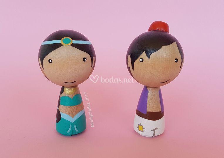 Figuras Aladdin talla M