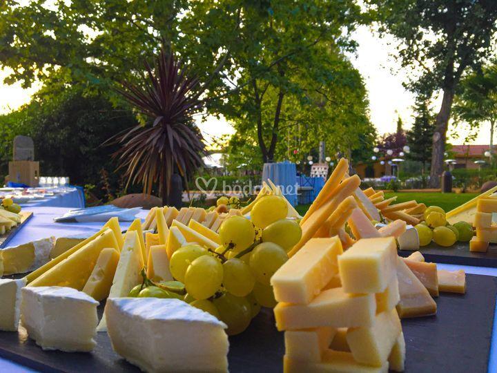 Córner de quesos