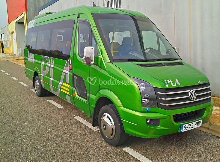 Microbús de 19 plazas