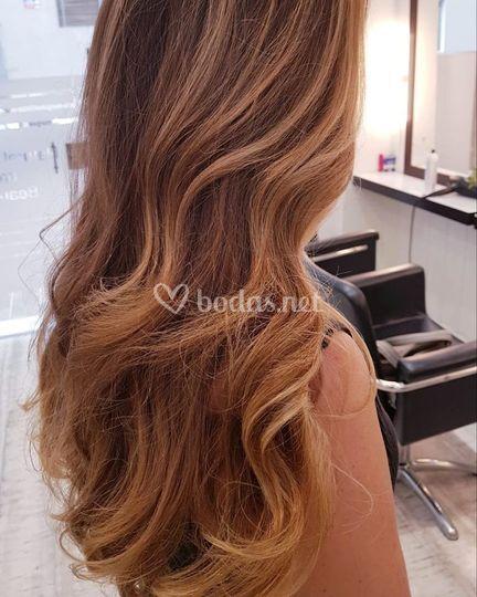 Ondas en pelo largo