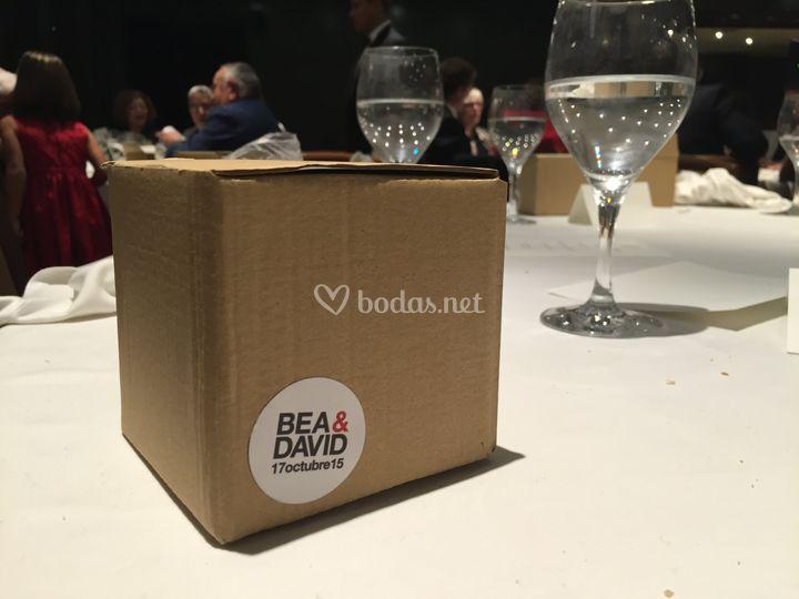 Caja personalizada Boda
