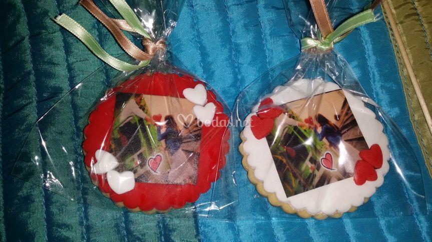 Galletas de regalo para bodas