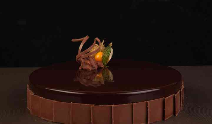 Tarta de avellana y chocolate