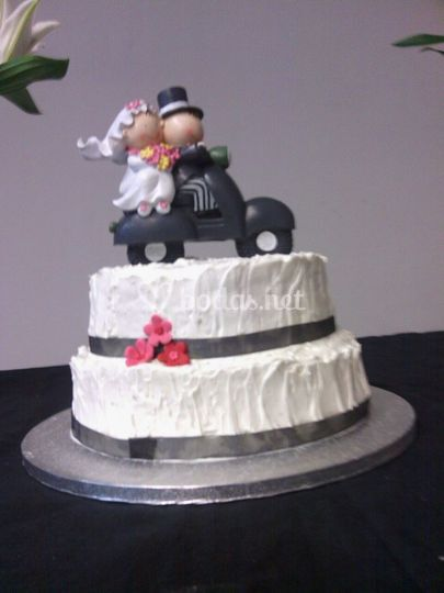Tarta Boda Buttercream