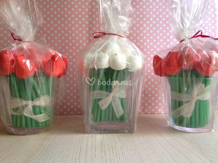 Centros de tulipanes