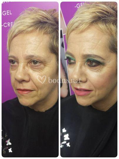 Maquillaje madrina atrevida !!