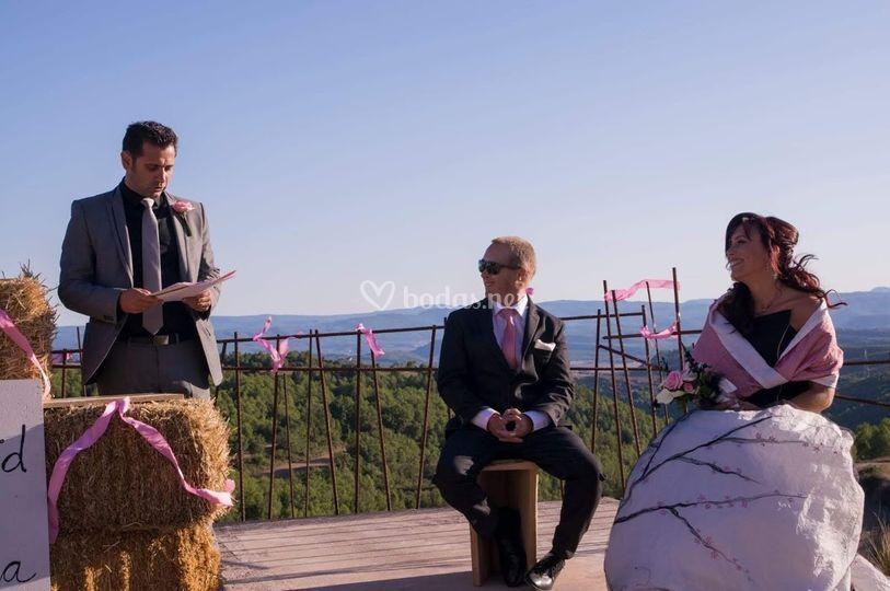 La ceremonia de Anna&David