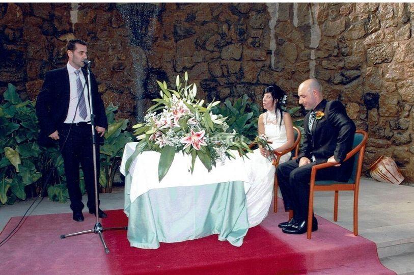 La ceremonia de Marta&David
